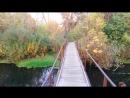 0197 150923 52.952324 35.943791 посёлок Русский пешеходный мостик через реку Орлик