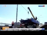 Движение по Садовому мосту полностью перекрыто в Краснодаре