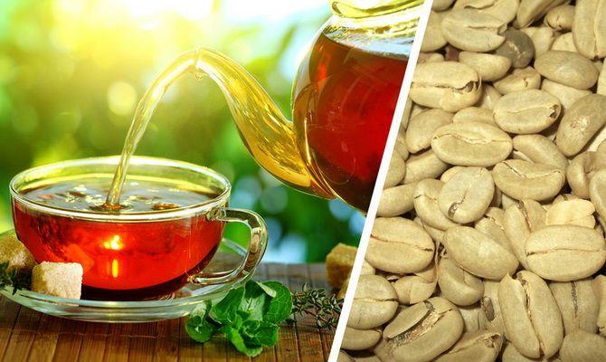 Зеленый чай или зеленый кофе: что лучше для похудения?
