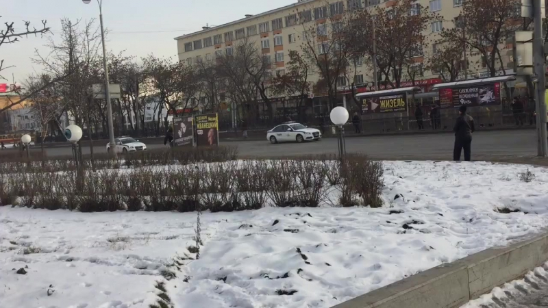 Кортеж Президента Чехии едет по Екатеринбургу