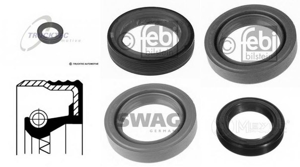 Уплотняющее кольцо, коленчатый вал; Уплотняющее кольцо, дифференциал для AUDI 50 (86)