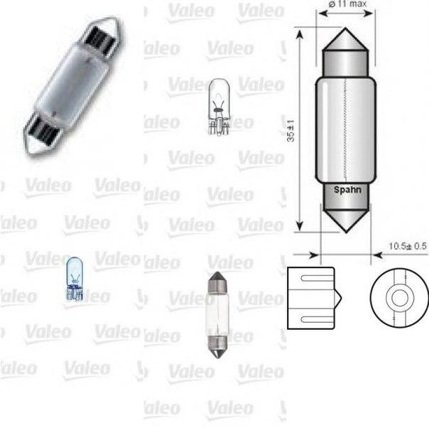 Лампа накаливания, фонарь освещения номерного знака; Лампа накаливания, задний гарабитный огонь; Лампа накаливания, внутренее освещение для AUDI A2 (8Z0)