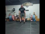Томас Мартин - тяга 425 кг (110 кг)