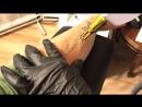 Удаление татуировки надпись!