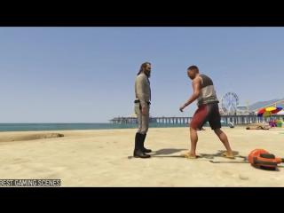 gta 5 online смешные моменты #3 Эпические моменты Юмор голый тревор прыгает с парашютом