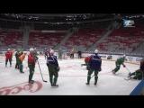Видео с утренней раскатки команды в Сочи