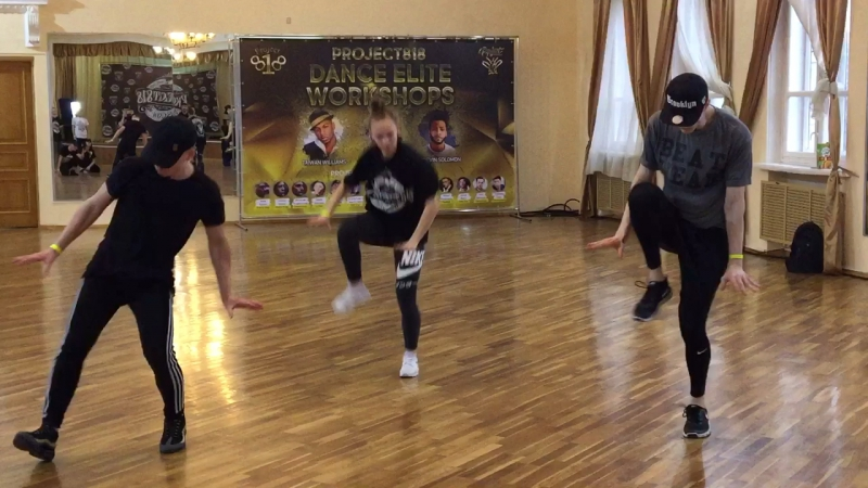 Project818 Dance Elite Workshop (Тигран Давидян Те SamЫЕ Negrы)