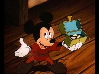 Микки Маус, Дональд Дак, Гуфи - Микки и бобовый стебель (27.09.1947) HD720 (Mickey and the Beanstalk)