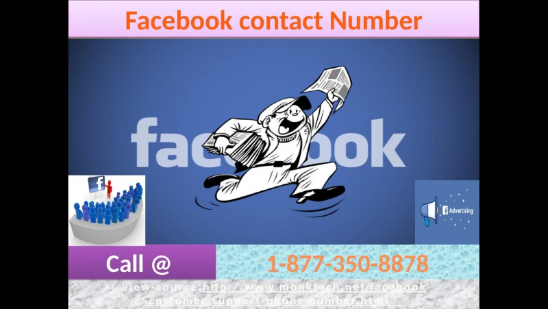 Counteract your issues with our Facebook Contact Number 1-877-350-8878