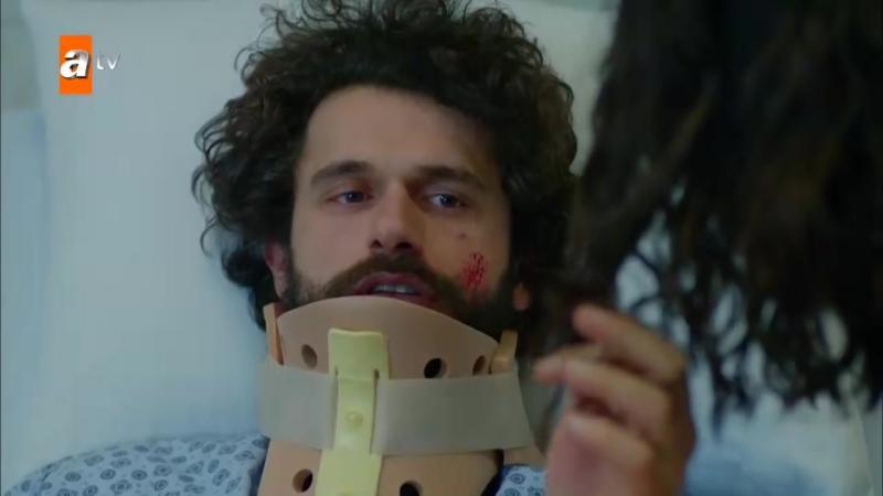 Дениз навещает Туну после аварии (24 серия)