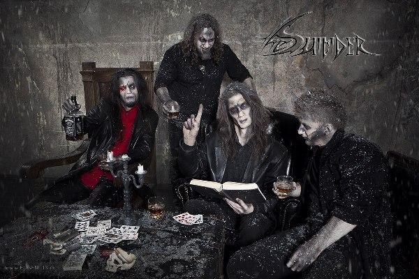 Официальный клип группы THE SUICIDER - 2012