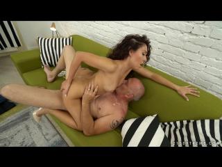 Melody petite - petite melody and big bruno [blowjob, mature, latina, brunette, cumshot, natural tits, small tits, 1080p]