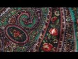 Как повязать павловопосадский платок. Волшебница