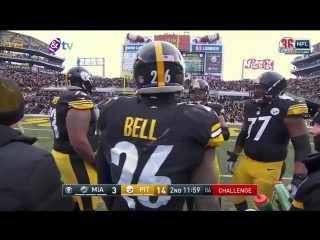 Wild Card Weekend Miami Dolphins@Pittsburgh Steelers part 1