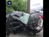 В Петербурге джип вылетел на тротуар и сбил пенсионерку