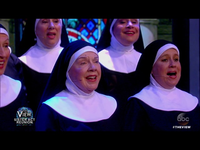 Sister Act Reunion Whoopi Goldberg And Co-Stars Perform | The View