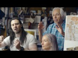 Boris Vallejo and Julie Bell on painting Andrew W.K.'s album cover,