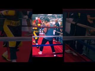 Видео: Фрагмент тренировки Ригондо перед боем с Ломаченко