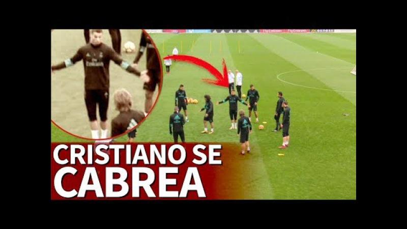 Cristiano no soporta que le mareen en el rondo | Diario AS