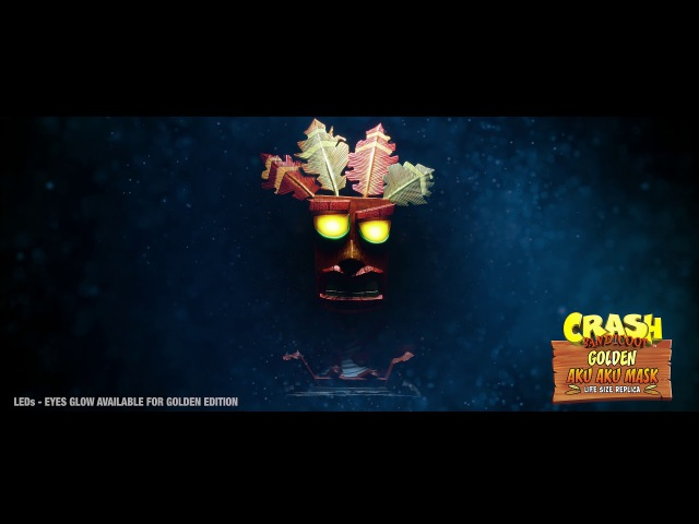 First 4 Figures Presents Crash Bandicoot - Aku Aku Life Size Mask Trailer
