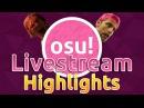 Osu! Livestream Highlights | Sodapoppin Reacts to Hitorigoto! Bancho trolls WWW! MiruHong 19% FC!