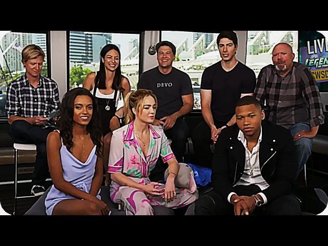 DC's Legends of Tomorrow Season 3 Comic-Con 2017 QNA Livestream w/ Tala Ashe (Zari)