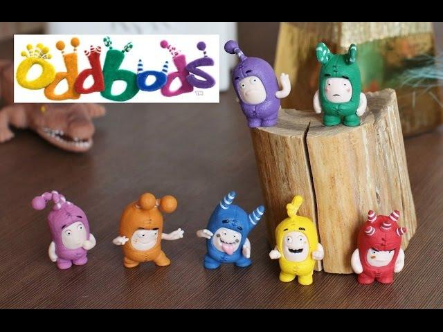 Oddbods набор из 7 фигурок