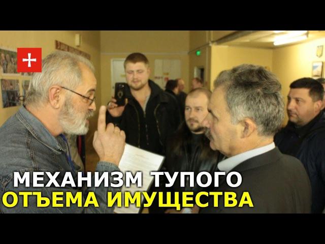 Возмущенные православные верующие вразумляют депутата Еленского