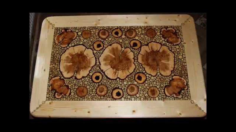 Мебель из капа, коряг, сувеля и спилов дерева