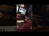 Aaron Carter Instagram Live