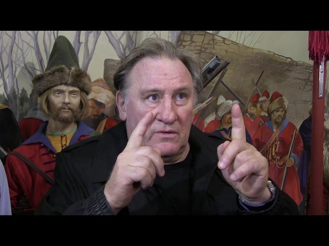 Россиянин Жерар Депардье заинтересовался историей Крыма после визита в «Стреле...