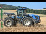 Biggest Tractor NEW HOLLAND T9 &amp HORSCH Terrano 6FM in France !!!