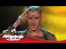 Special Head Monk Levitates Above a Pyramid and Disappears America's Got Talent 2013