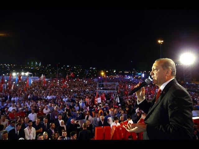 FULL HD - Cumhurbaşkanı Recep Tayyip ERDOĞAN 15 Temmuz Demokrasi ve Milli Birlik Günü Anma Törenleri