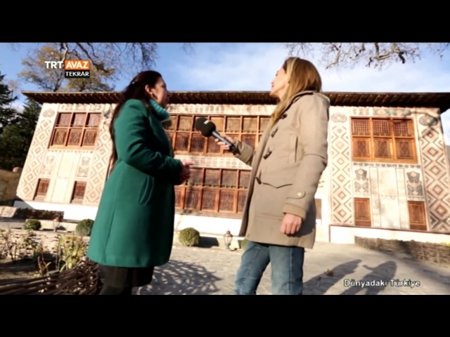 Azerbaycan Mimarisini Yansıtan Şeki Han Sarayı'nı Tanıyalım - TRT Avaz