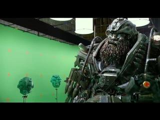 Transformers The Last Knight BTS Promo- Hound on Set