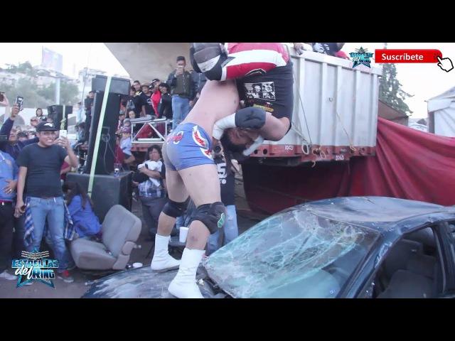 Ciclope Miedo Extremo vs Juventud 2000 Ultimo Gladiador