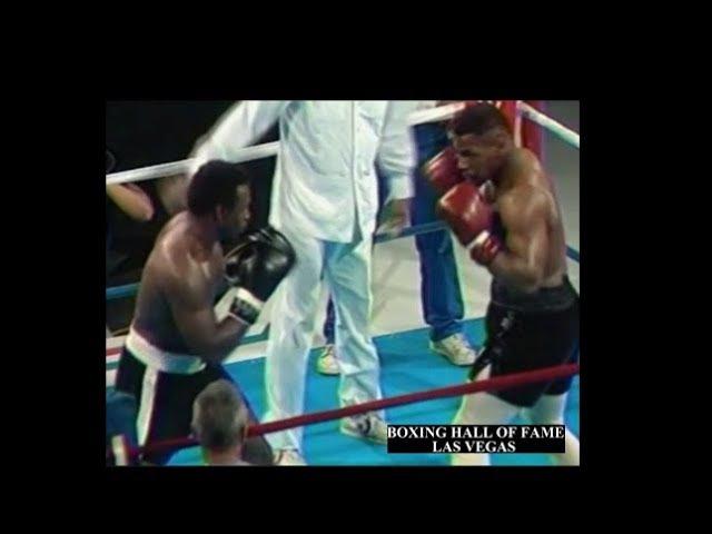 Mike Tyson Rare Exhibition No Headgear GREAT HEAD MOTION 1986