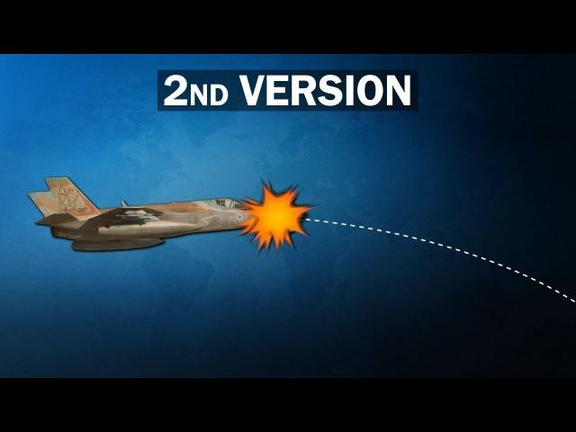 Возле границы с Сирией поврежден израильский F-35. Работа сирийских ПВО или столкновение с птицей?
