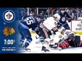 NHL 18 PS4. REGULAR SEASON 2017-2018: Chicago BLACKHAWKS VS Winnipeg JETS. 12.14.2017. (NBCSN) !
