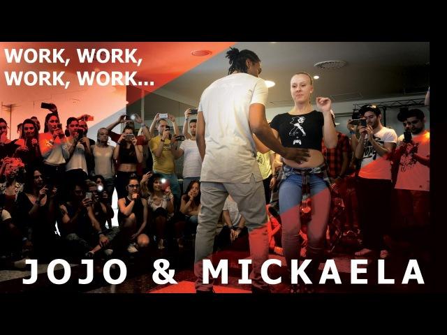 Work 2.0 - Shinnas Way Jojo Mickaela Urban Kiz Dance @ Barcelona Temptation Festival 2017