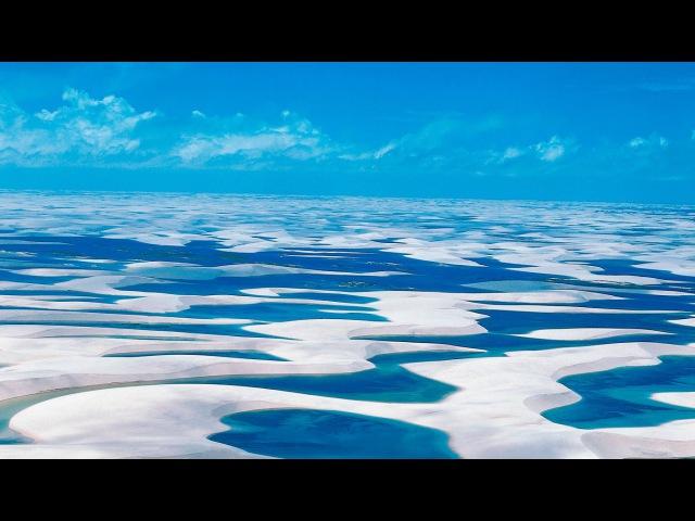 Белоснежные песчаные дюны Бразилии/Snow-white sand dunes of Brazil/