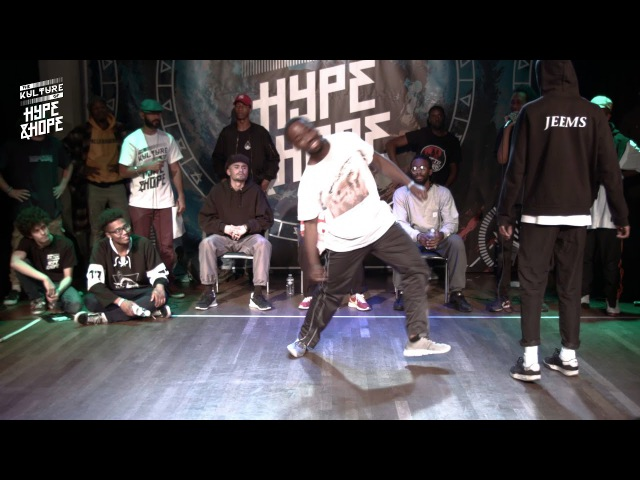 HASSANI VS JEEMS | SEMI FINAL HIPHOP | The Kulture of HypeHope | Wind edition 2017
