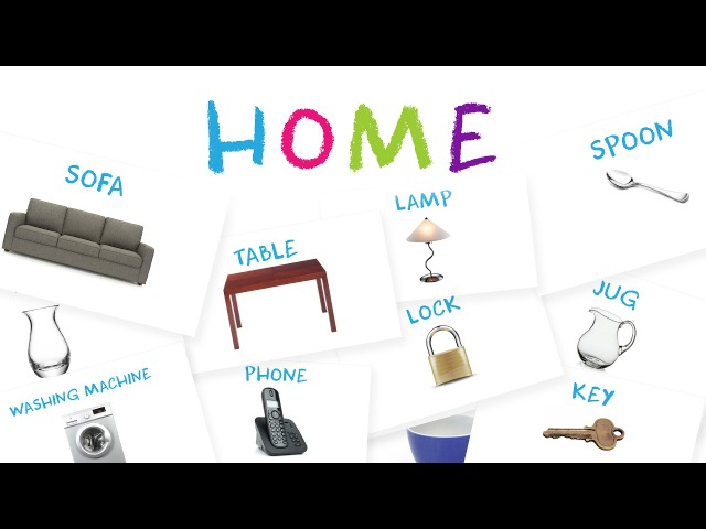Learn Furniture Common House Objects for Kids