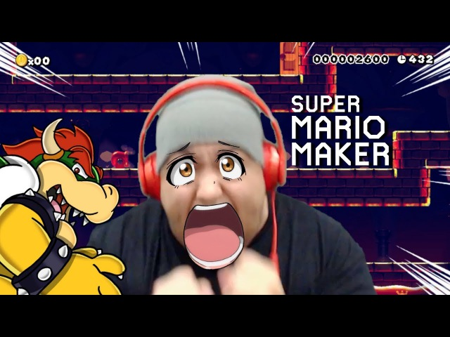 THEY CAN'T BE SERIOUS WITH THIS LEVEL!! [SUPER MARIO MAKER] [105]
