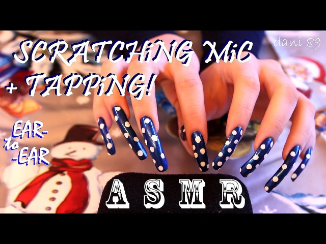 🎧 Binaural EAR to EAR 👂 ASMR 🔊 TAPPING Scratching ◉ TINGLES with MICROPHONE ✶ 💤 ✦