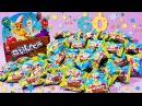 60 сюрпризов Веселые прилипалы 3 Вся коллекция Stikeez от Дикси/Unboxing Surprise Toy