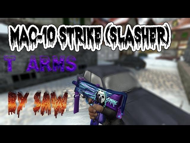 MAC-10 Strike (Slasher) [T Gloves]