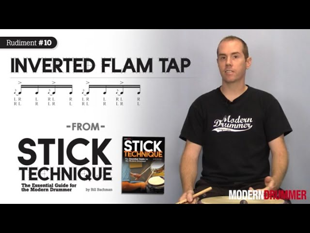 Top-10 Rudiments: Inverted Flam Tap (From the December 2009 Issue of Modern Drummer Magazine)