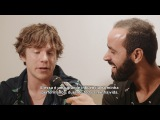 Matt Shultz, do Cage the Elephant, quer sambar! + David Lima